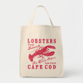 Lobsters Grocery Tote Bag