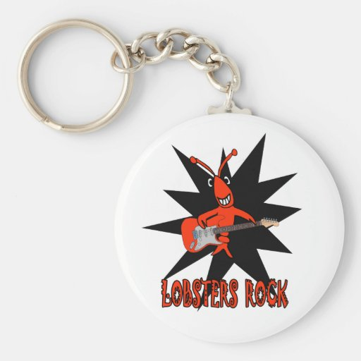 Lobsters Rock Key Chains