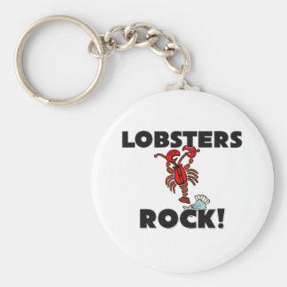 Lobsters Rock Key Chain
