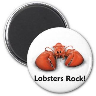 Lobsters Rock! Magnet