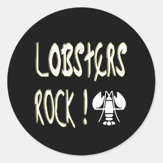 Lobsters Rock! Sticker