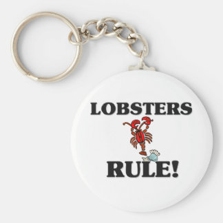 LOBSTERS Rule! Keychain