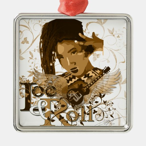 Loc and Roll Christmas Tree Ornament