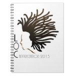 LOC Appreciation Day 2013 Spiral Note Book