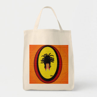 Loc Updo Grocery Tote