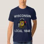 Local 1848 de Wisconsin Camisas