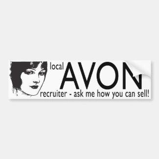 Local Avon Recruiter Bumper Sticker