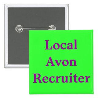 Local Avon Recruiter Pin
