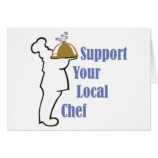 Local Chef Card