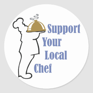 Local Chef Classic Round Sticker