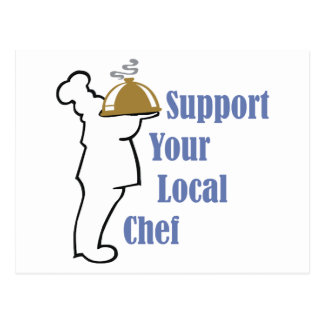 Local Chef Postcard