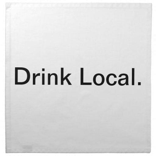 Local. de la bebida servilleta