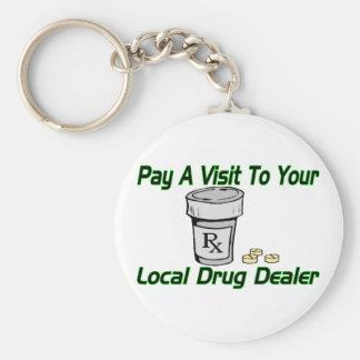Local Drug Dealer Keychain