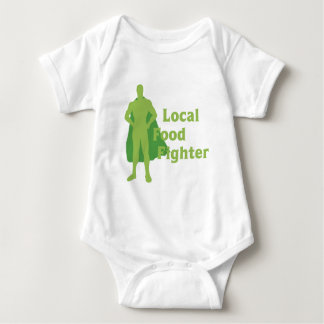 Local Food Fighter Baby Bodysuit