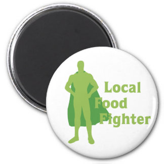Local Food Fighter Magnet
