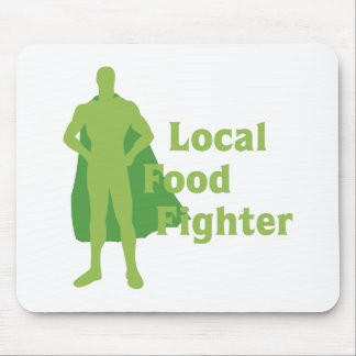 Local Food Fighter Mouse Pad