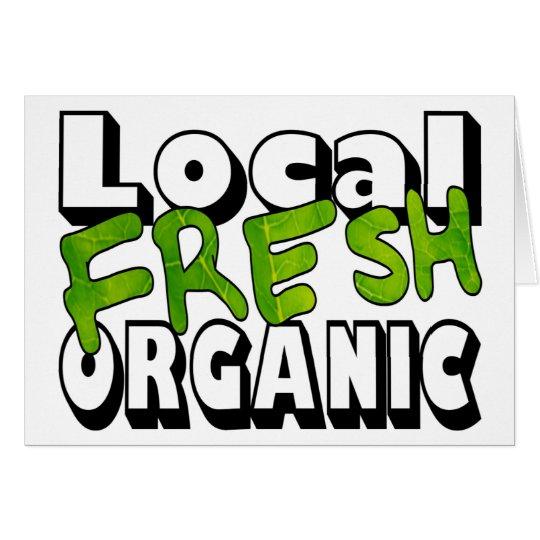 Local Fresh Organic Card