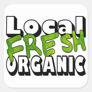 Local Fresh Organic Stickers