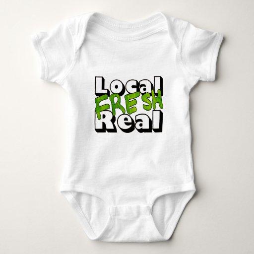 Local Fresh Real Tee Shirts