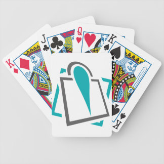 local geography bicycle playing cards
