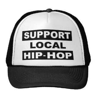 local trucker hat
