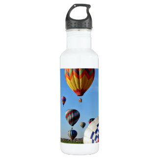 Local heroes balloon rally water bottle