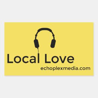 Local Love Stickers! Rectangular Sticker