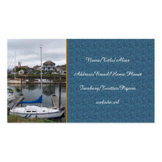 Local Moorage Business Card