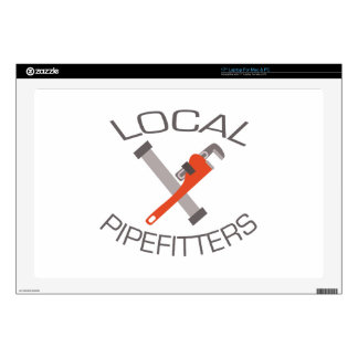 "Local Pipefitters 17"" Laptop Skins"