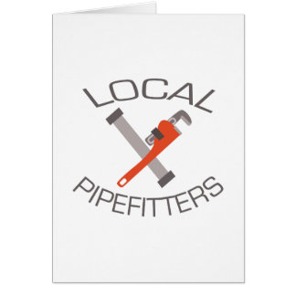 Local Pipefitters Card