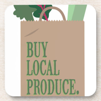 Local Produce Drink Coaster