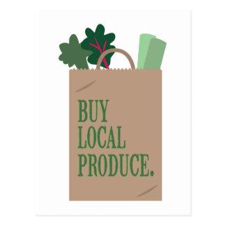 Local Produce Postcard