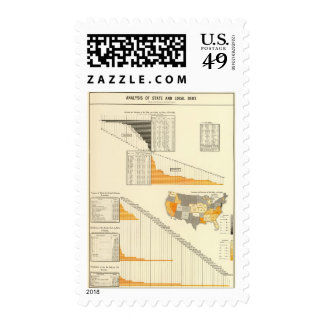 local state debt postage stamp