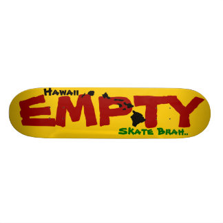 Local Style Empty Skate Summer Line Deck