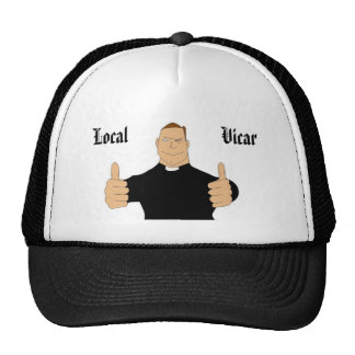 , Local, Vicar Mesh Hat