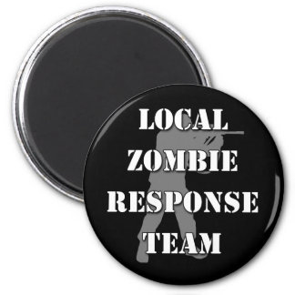 Local Zombie Response Team Magnet