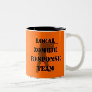 Local Zombie Response Team Coffee Mugs