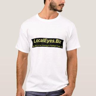 LocalEyes.Biz Yellow on Black T-Shirt
