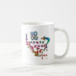 ¡Localice su mente colorida!! Tazas De Café