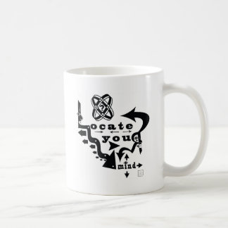¡Localice su mente! Taza De Café
