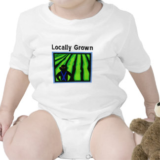 Locally Grown Baby Bodysuit
