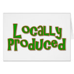 Locally Produced Cards