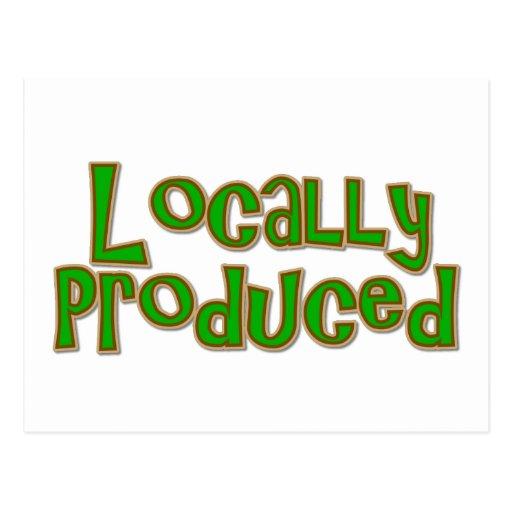 Locally Produced Postcard