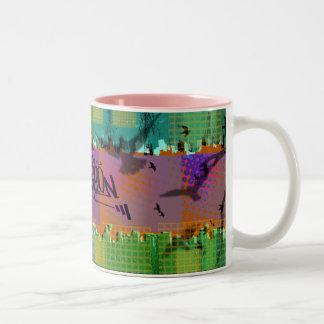 Localpigeon Billboards Two-Tone Coffee Mug