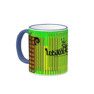 Localpigeon Billboards Ringer Coffee Mug