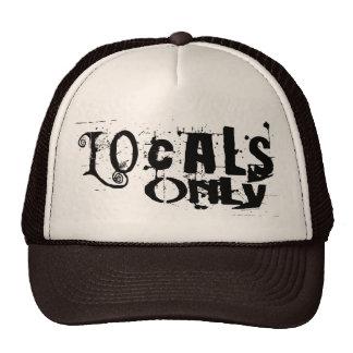 Locals Only Blk Hat