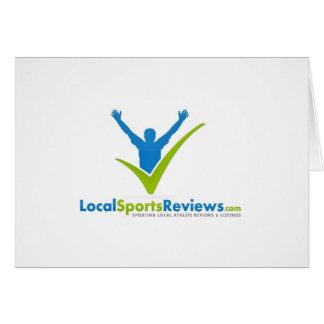 LocalSportsReview.com Tarjeta De Felicitación