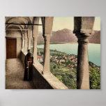 Locarno, Madonna del Sasso, logia, Tessin, Switze Impresiones