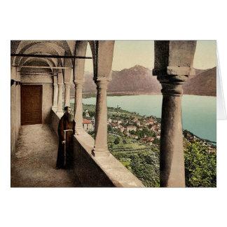 Locarno, Madonna del Sasso, logia, Tessin, Switze Felicitacion