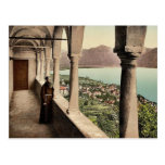 Locarno, Madonna del Sasso, logia, Tessin, Switze Tarjetas Postales
